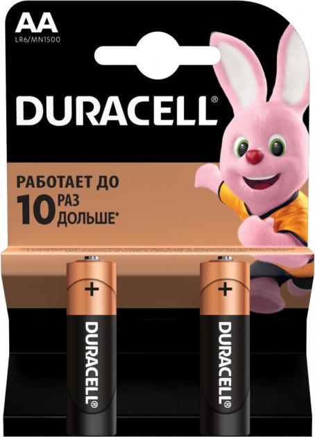 Батарейка пальчиковая Duracell 2 шт.