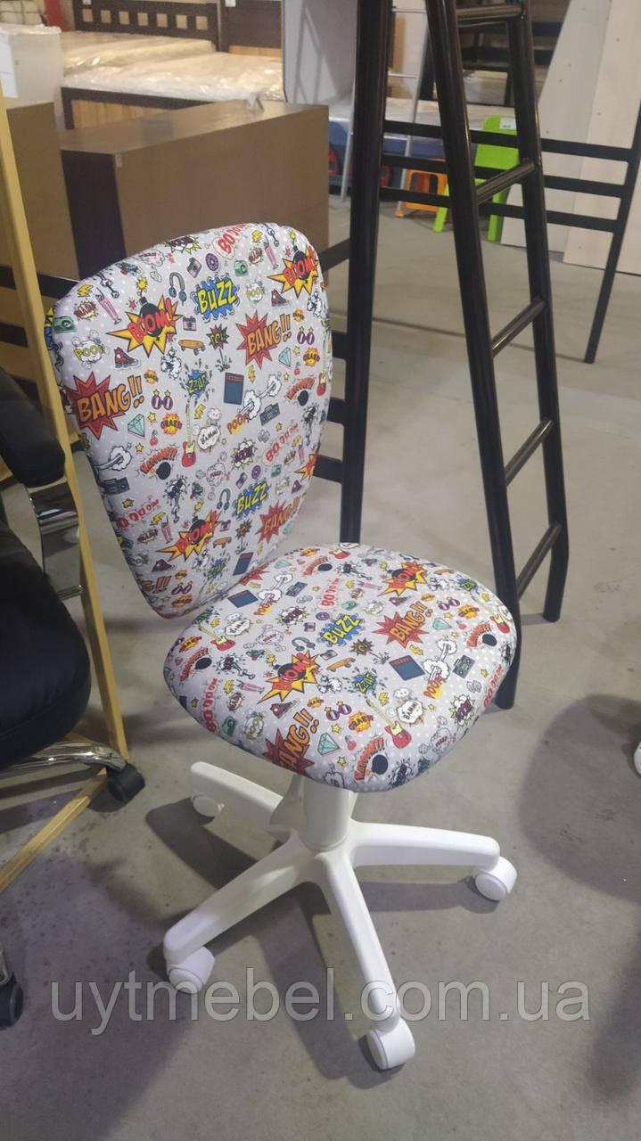 Крісло POLLY GTS white CM2 (НОВИЙ СТИЛЬ)