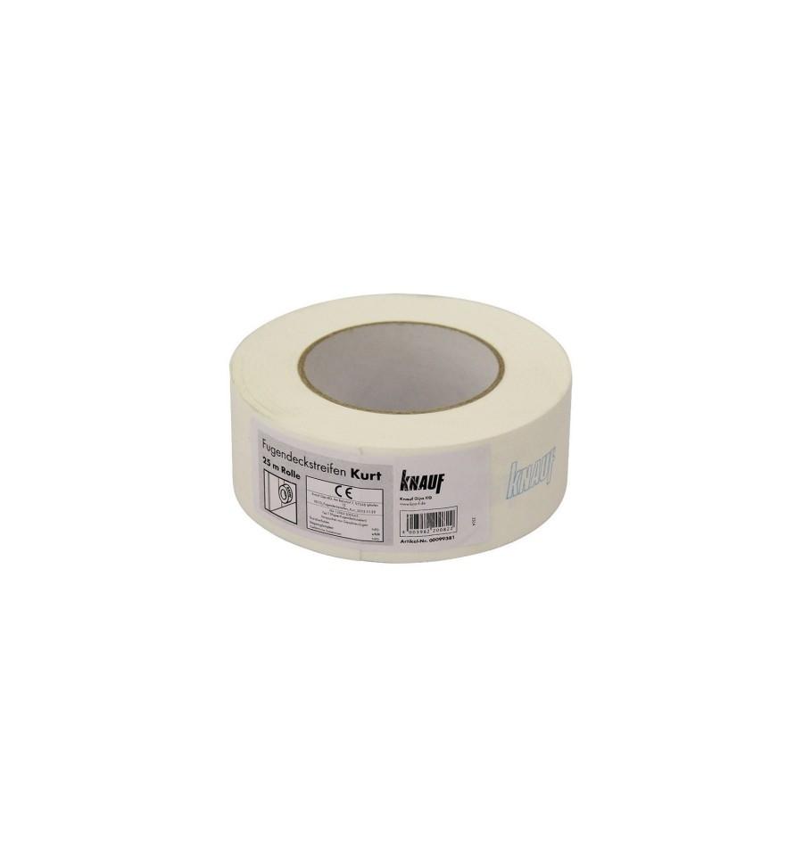 KNAUF Стрічка для швів паперова КУРТ 50 мм, рулон 75 м