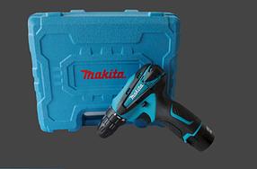 Шуруповёрт аккумуляторный  MAKITA DF 310 DWE ( 2 батареи в комплекте/Led подсветка ) | Япония