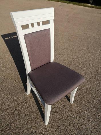 Стул кухонный деревянный  Эссен  Fusion Furniture, цвет белый, фото 2