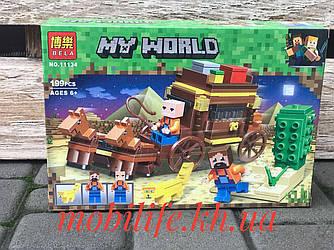 """Конструктор Майнкрафт Minecraft дет199/Конструктор my world """"Путешествие по Египту""""/Высокое Качество/"""