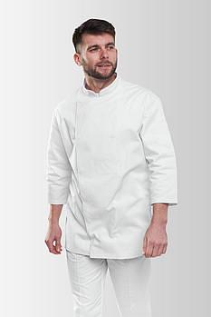 Китель повара Rio 235-1 Мужской Белый L