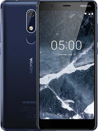 Смартфон Nokia 7.1 3/32GB Dual Sim Midnight Blue