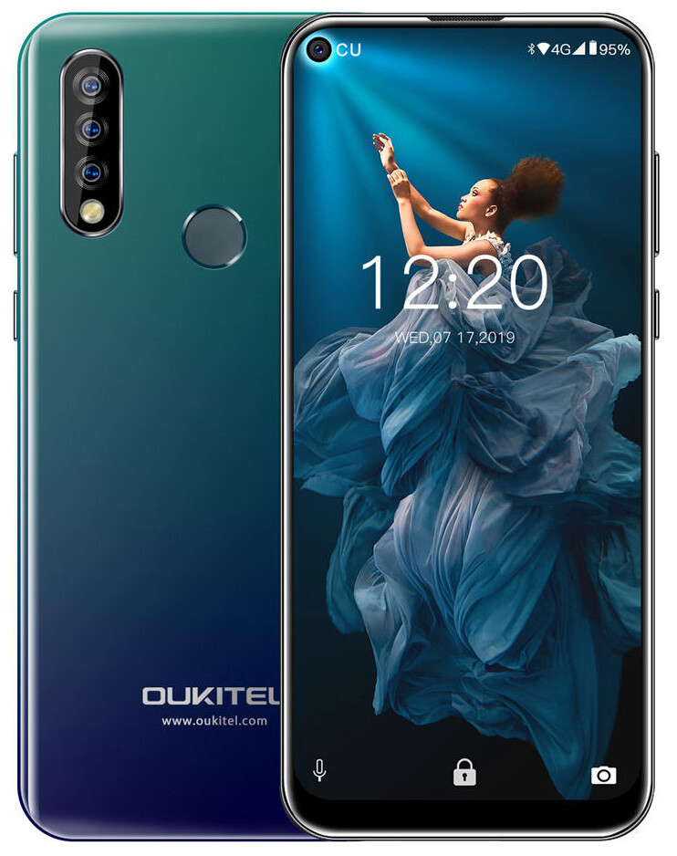 Смартфон Oukitel C17 Pro 3/16Gb Graddual Blue