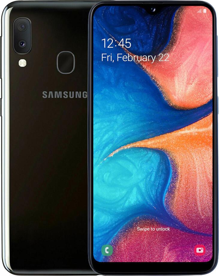 Смартфон Samsung Galaxy A20e SM-A202F 3/32GB Black (SM-A202FZKD)
