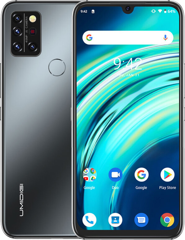 Смартфон Umidigi A9 Pro 4/128GB Black (Global)