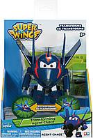Супер Крила трансформер агент Чейз Super Wings - Transforming Agent Chase