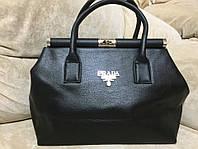 Женская сумка Prada Milano (Прада Милано), чёрная