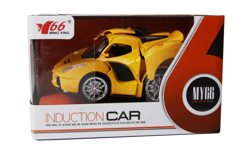 Іграшкова машинка металева MY66-Q1232 Жовтий