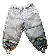 Детские штаны, серые, Грязепруф, Lupilu 86-92