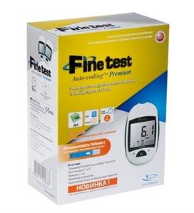 Глюкометр Finetest Auto - Coding Premium, Infopia