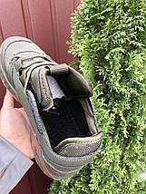 Кроссовки мужские темно зеленые теплые, фото 2
