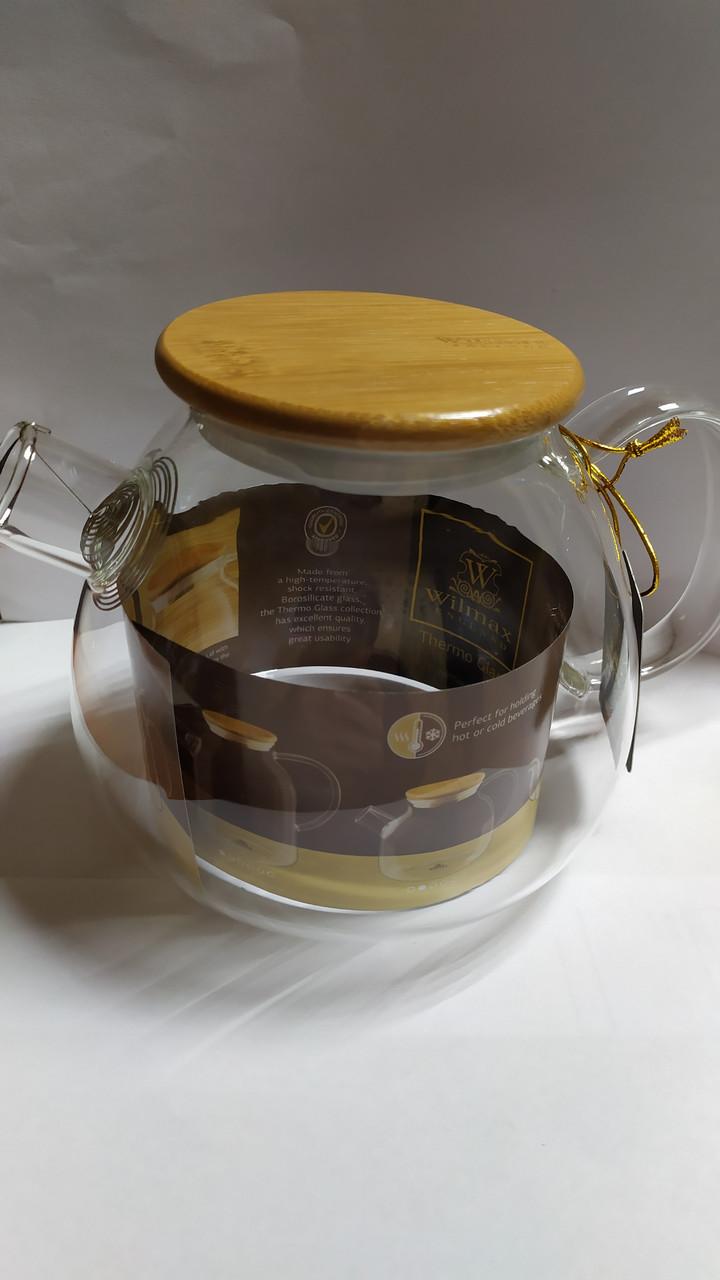 Чайник заварювальний Wilmax Thermo фільтр. спіраль 1200мл, WL-888824/A
