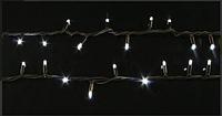 Светодиодная гирлянда уличная 100LED 10м 220V+удлен. ЧП Белый RD-7094, для декора, новогодняя, на шторы