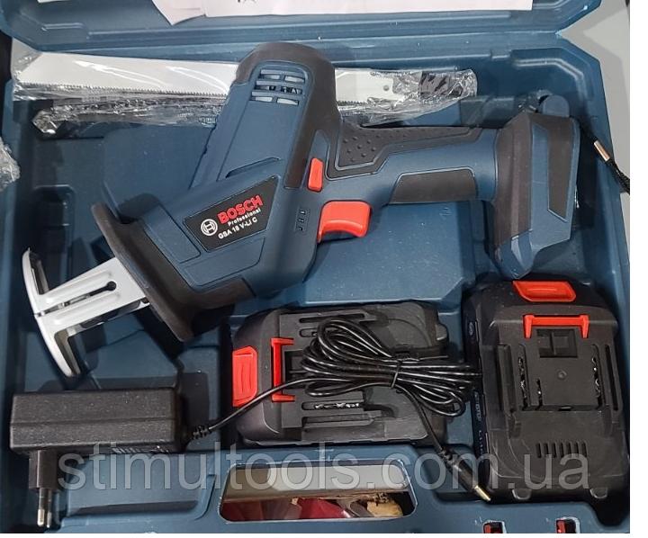 Аккумуляторная ножовка Bosch GSA 18 V-LI C (копия)