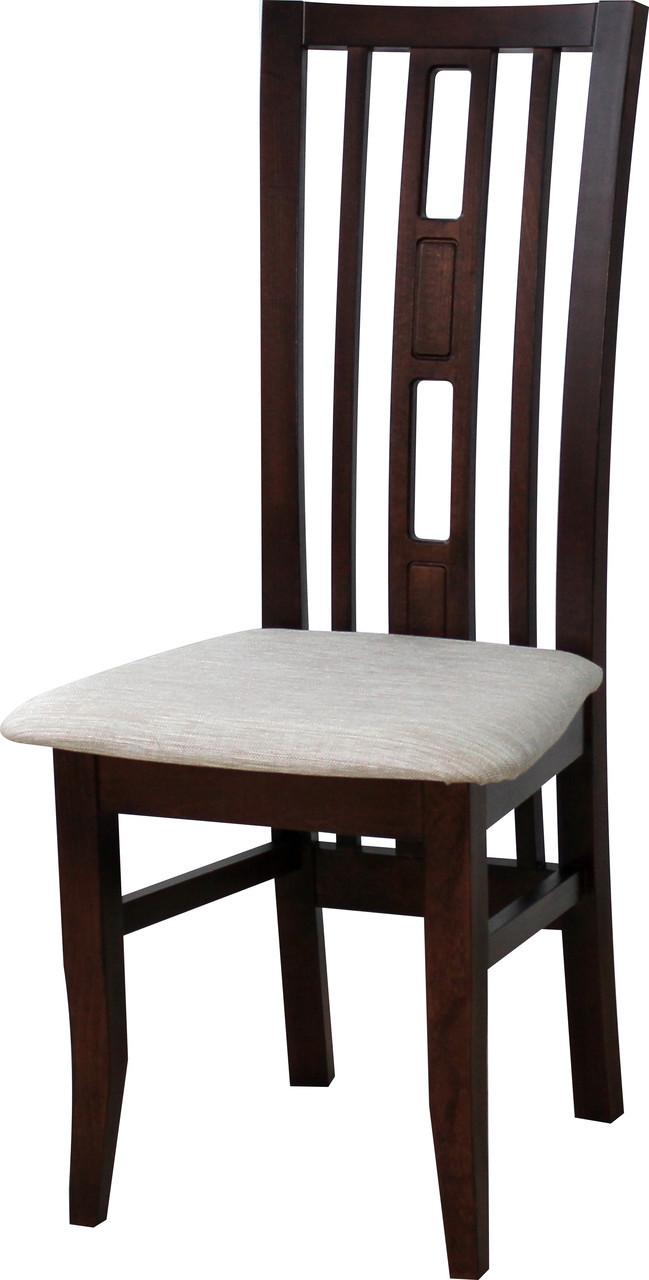 Стілець кухонний дерев'яний Валенсія Fusion Furniture, колір горіх