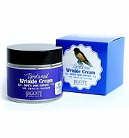 Антивозрастной крем Jigott Birds Nest Wrinkle Cream 70 мл J0109, КОД: 1565250