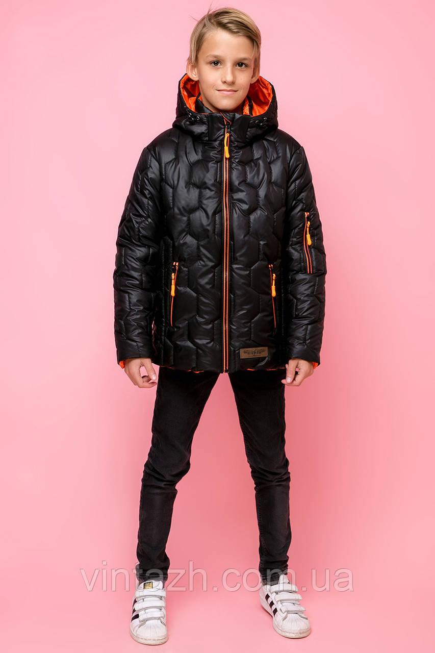Модная куртка на мальчика деми рост 122-158