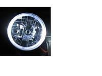Фары ВАЗ 2101, 2121, КАМАЗ с ангельскими глазками белые