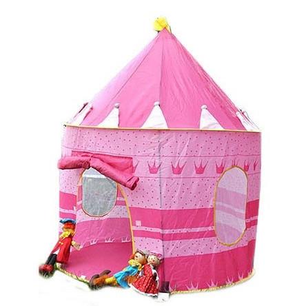 Дитячий ігровий намет замок Рожева