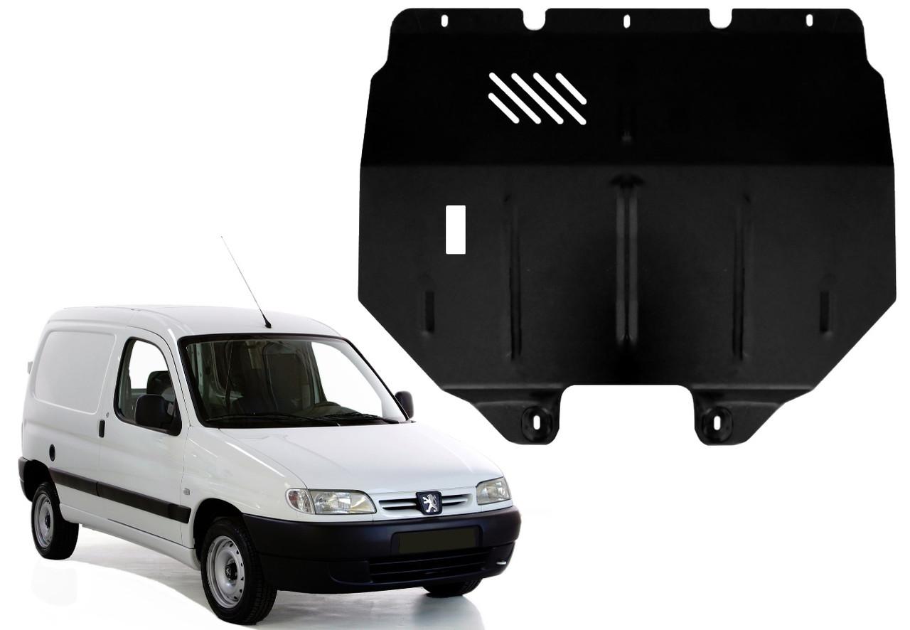 Защита двигателя Peugeot Partner I 1996-2008