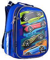 Рюкзак шкільний каркасний 1 Вересня H-25 Winner Синій 556205, КОД: 1247936