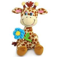 Мягкая игрушка Lava Жираф с цветком (LA8614)