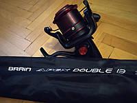 ФІДЕРНИЙ НАБІР Фідерне вудилище Brain Apex Double 3.90 m 4.5 lbs/max 200g + Катушка Brain Battle 7000