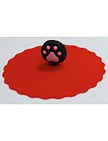 Силиконовая крышка для консервных банок Croci Ø10 см (красная)