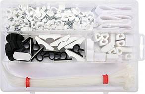 Набір(Комплект)Кріплень Для Електрика 124 шт VOREL 24140