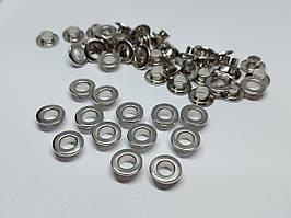 Нержавіючий люверс 5 мм нікель (1000 шт.уп.)