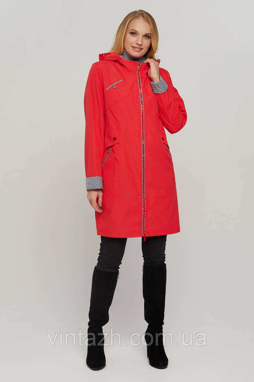 Яркая модная куртка для женщин весна-осень размеры 48-58