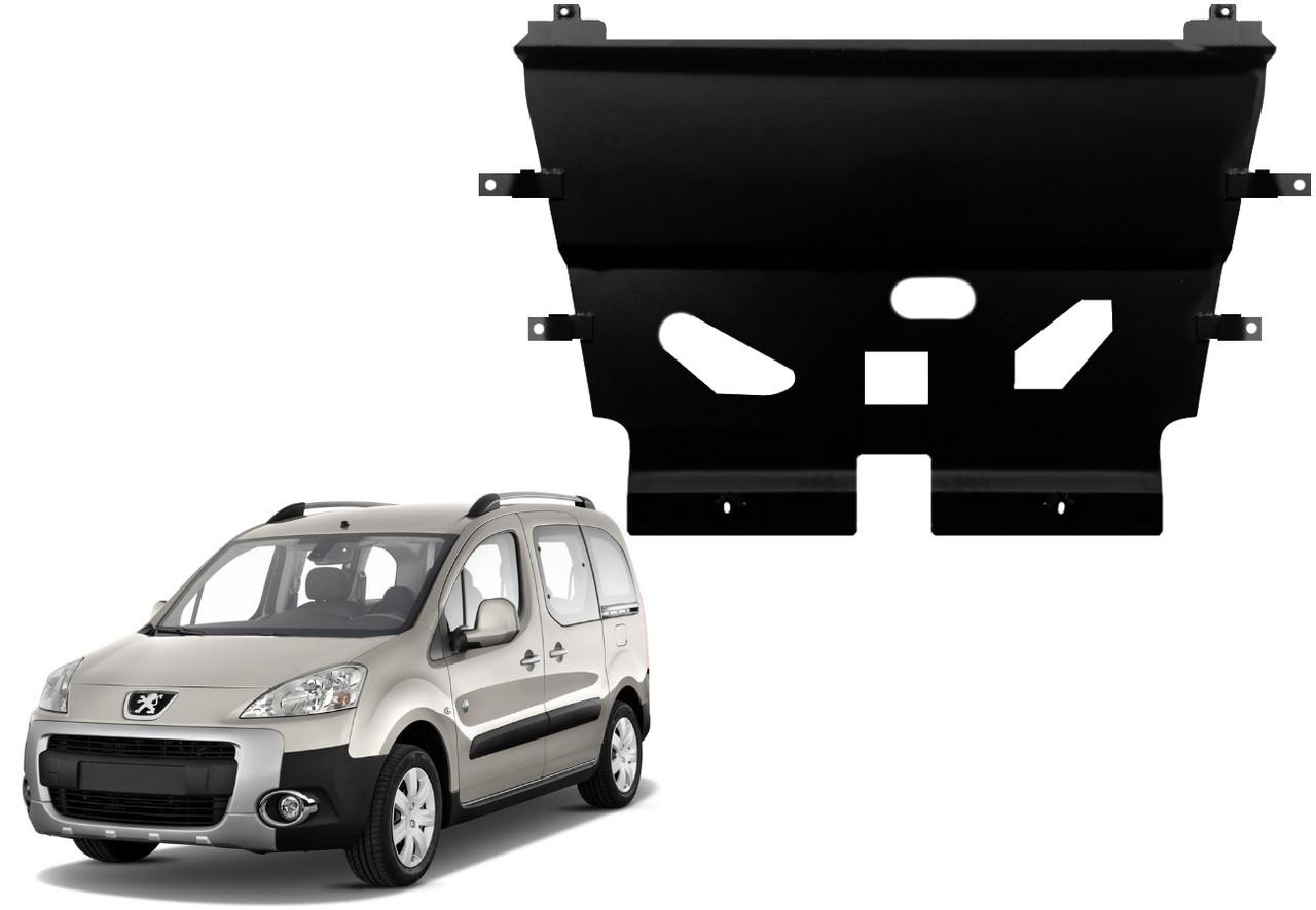 Защита двигателя Peugeot Partner II 2008-2018