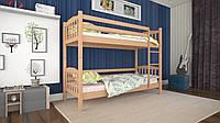Кровать деревянная двухъярусная Ника 80 ТМ Mecano (Мекано), фото 1