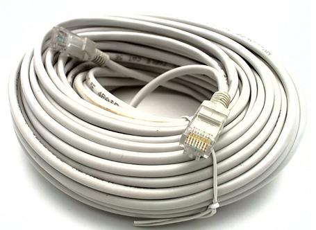 Интернет сетевой LAN кабель патч-корд HX CAT 5E 10 метров Серый, фото 2