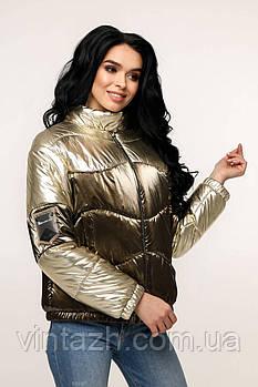 Модная деми куртка для девченок размеры 48-54