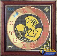 Схема для вышивки бисером - Знак Зодиака - Водолей, Арт. ЗБп-003