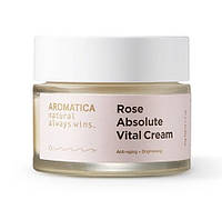 Восстанавливающий крем с розой Aromatica Rose Absolute Vital Cream, фото 1