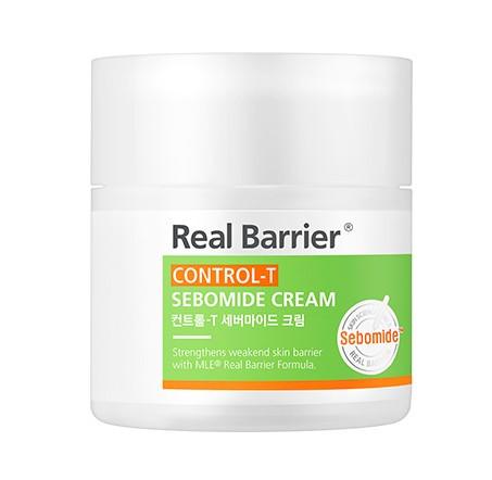 Лёгкий крем для жирной кожи Real Barrier Control-T Sebomide Cream 50 мл