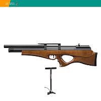 Пневматическая винтовка SPA P10 дерево предварительная накачка PCP 305 м/с с насосом, фото 1