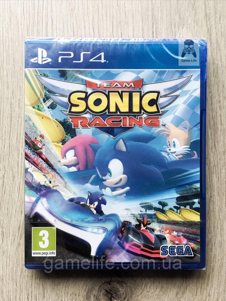 Team Sonic Racing (рус. суб.) PS4