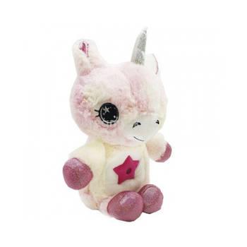 М'яка іграшка нічник-проектор Star Belly Світло-рожева