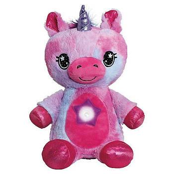 М'яка іграшка нічник-проектор Star Belly Фіолетова