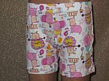 Одяг для дому для дівчинки набір шортики з маєчкою, фото 3