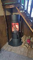Круглая печь на дровах Haas+Sohn Ovalis Piccolo (Каминофен)