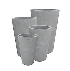 МИЛАН Вазон бетонный уличный, горшок для сада, дома и террасы