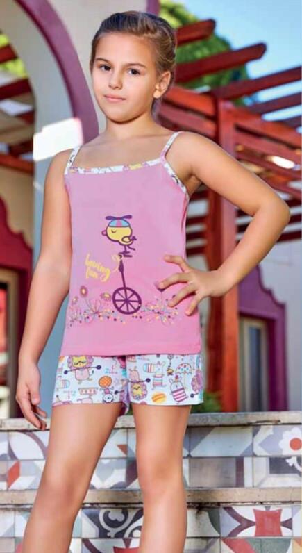 Одяг для дому для дівчинки набір шортики з маєчкою