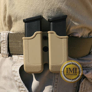 Оригинал Двойной полимерный подсумок для серии Glock IMI-Z2000 (MP00) Чорний