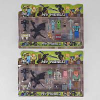 Набор игрушек фигурок Майнкрафт